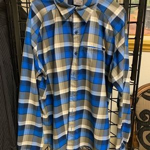 Men's opti-wick, upf 30+ shirt